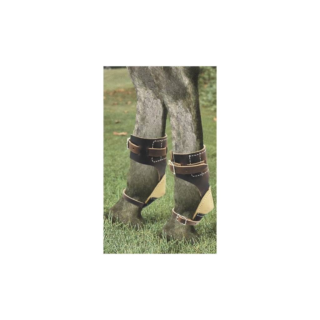 Billy Cook Saddlery Leather Skid Boots