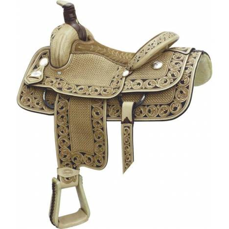 Billy Cook Saddlery Motes Accent Roper Saddle
