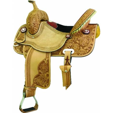 Saddlesmith Of Texas Connie Combs Gator Half-Breed Racer Saddle