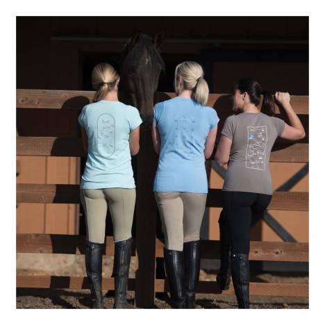 Irideon Ladies On Course Show Jumper Tee