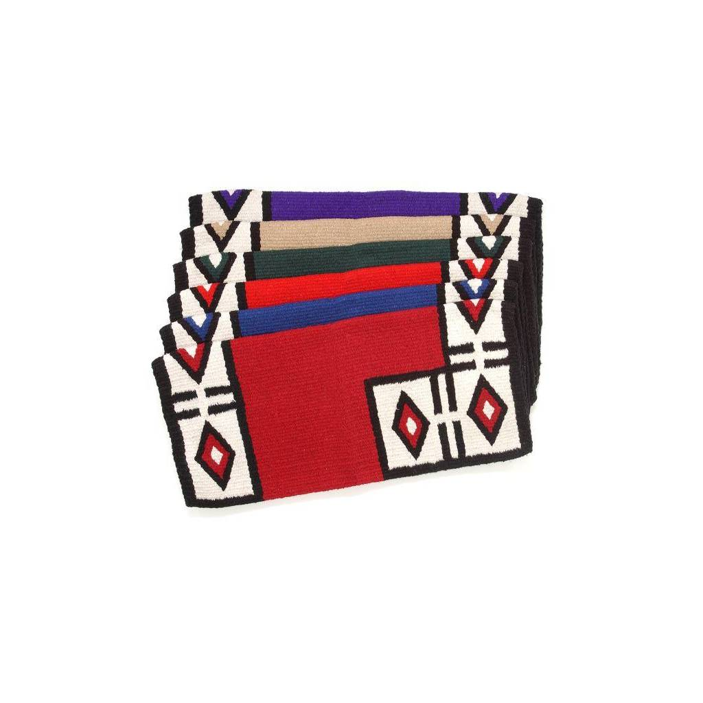 Tough-1 Thunderbird Double Weave Saddle Blanket