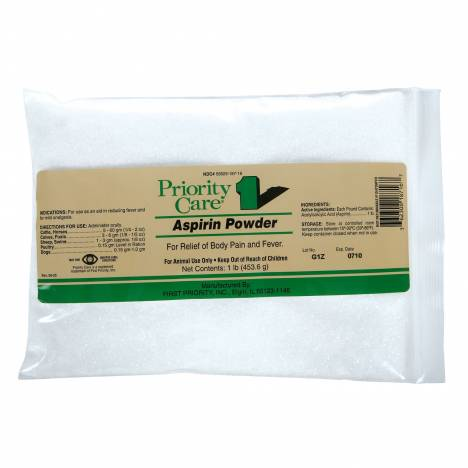 Priority Care Aspirin Powder Bag