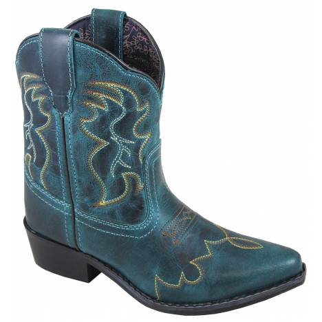 Smoky Mountain Youth Juniper Boots - Dark Turquoise