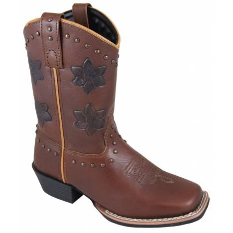 Smoky Mountain Childrens Lilac Boots - Brown