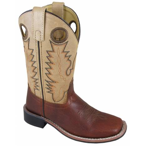 Smoky Mountain Childrens Jesse Boots - Brown/Tan