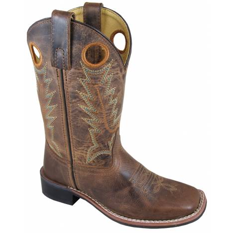 Smoky Mountain Childrens Jesse Boots - Brown/Brown