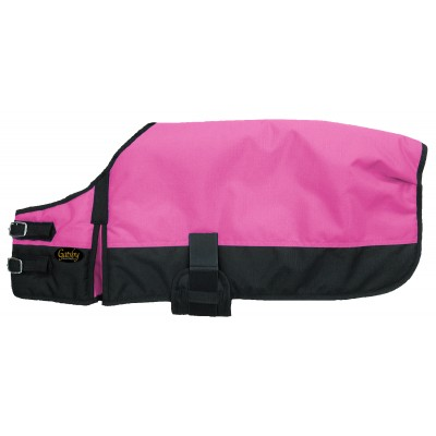 Gatsby 600D Ripstop Waterproof Dog Blanket - Hot Pink / Black - Small