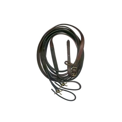 Millers Harness Round Driving Lines - Brass - Pony