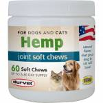 Duravet Hemp Joint Soft Chews - Dogs and Cats - 60 Count
