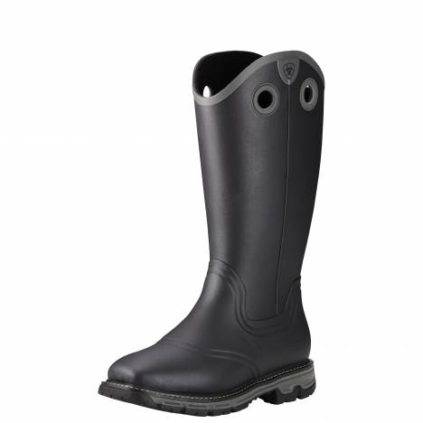 Ariat Mens Conquest Buckaroo Waterproof Square Toe Rubber Boots