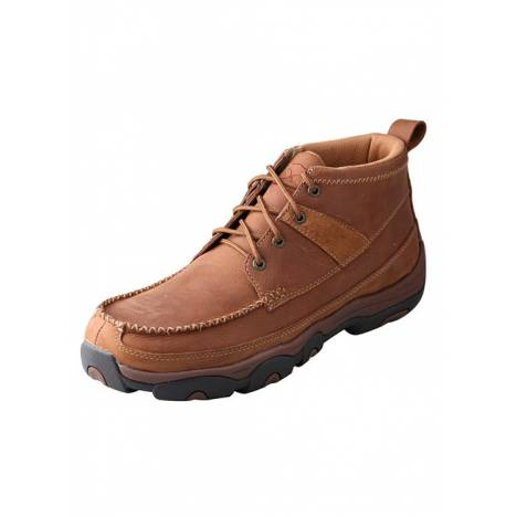 """Twisted X Mens 4"""" Driving Moc Hiker Boots"""