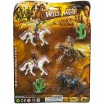 Gift Corral Wild West Cowboy & Indian Deluxe Playset