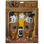 Gift Corral Wild West Cowboy Play Set - Double Pistol with Holster