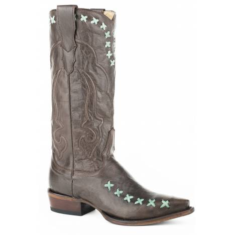 Stetson Ladies Wren Leather Handcrafted Boots
