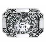 Jack Daniel's Made in USA Rectangle Western Belt Buckle