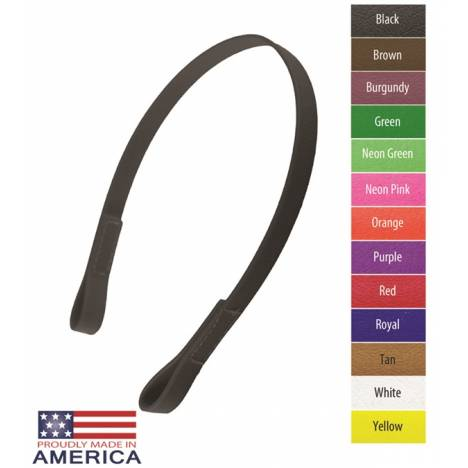 """Feather-Weight 3/4"""" Beta Halter Browband"""