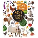 Kelley Eyelike On the Farm Sticker Book - 400 Reusable Stickers