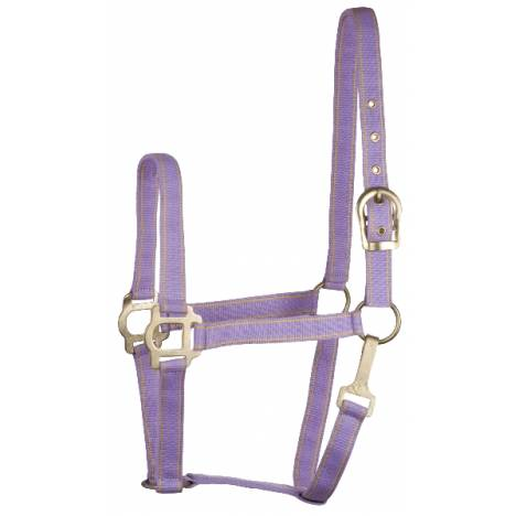 Gatsby Classic 2-Tone Nylon Halter with Snap