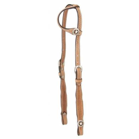 Royal King Square Cheek Single Ear Headstall