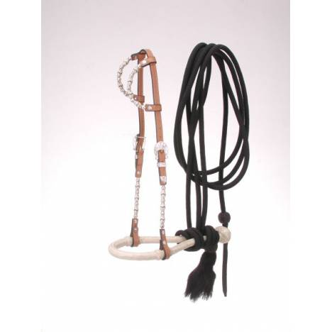 Royal King Double Ear Bosal/Mecate Set