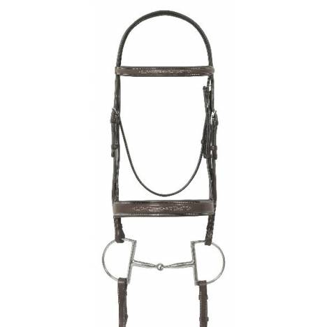 Ovation Fancy Padded Bridle with Reins