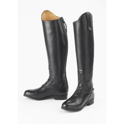 Ovation Flex Field Boot-Juniors - Black - 10 Regular Tall