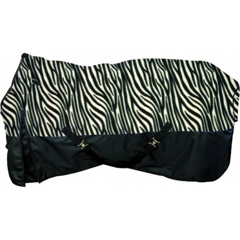 Waterproof 600D Poly Zebra Blanket