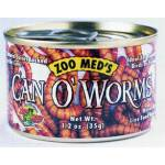 Can O' Worms Food For Lizards/Snakes/Amphibians/Water Turtles