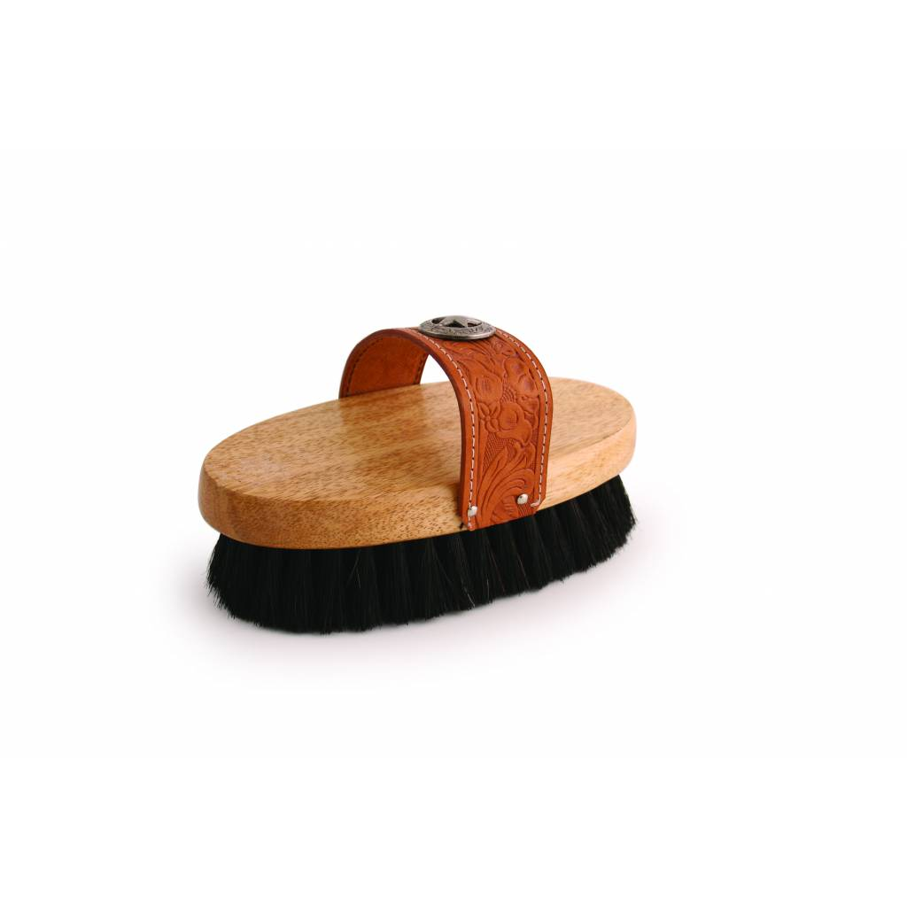 Legends Poly/Horsehair Western-Style Body Brush