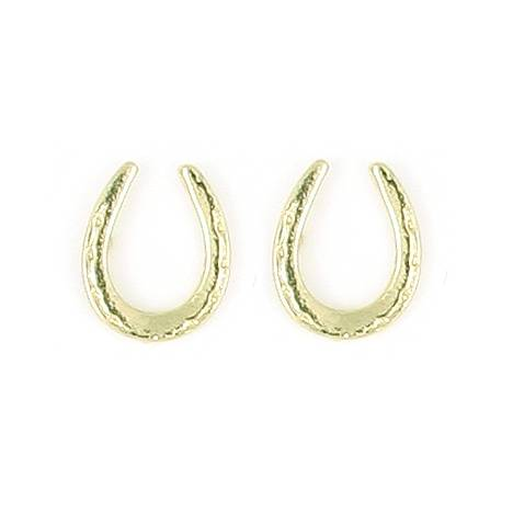 Finishing Touch Single Horseshoe Earrings
