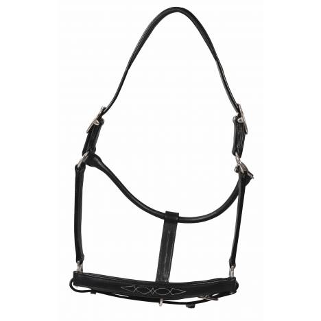 Henri de Rivel Fancy Padded Rolled Throat Triple Stitch Halter