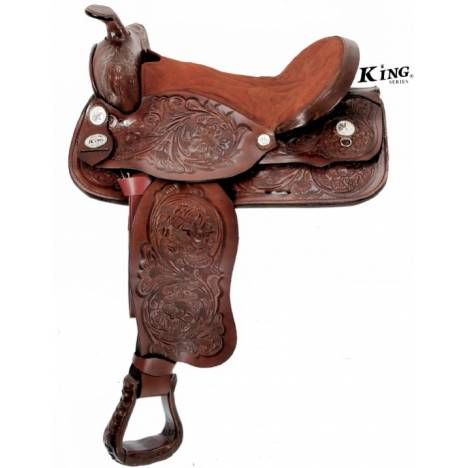 King Series Show King II Saddle without Silver