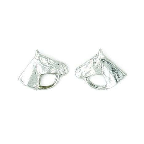 Finishing Touch Horse Head with Bridle Earrings