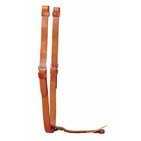 TORY LEATHER Leather Flank Cinch - Connector Strap