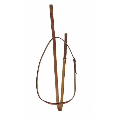 "TORY LEATHER 3/4"" Bridle Leather Standing Martingale"