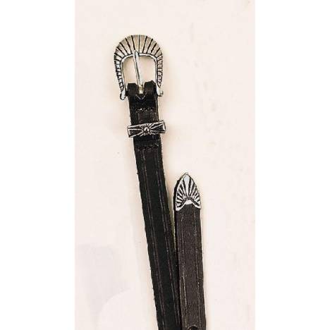 TORY LEATHER Spur Strap with Antique Buckle