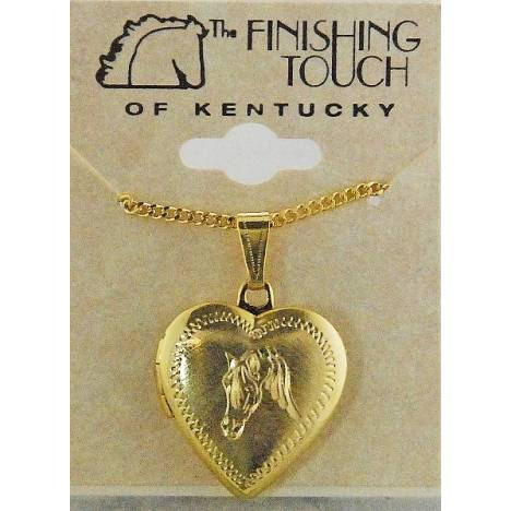 Finishing Touch Arabian Heart Locket