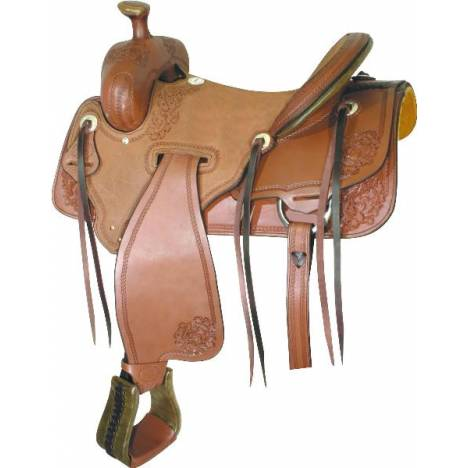 Billy Cook Saddlery Panhandle Ranch Saddle
