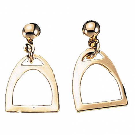 Exselle Smooth Stirrup Earrings