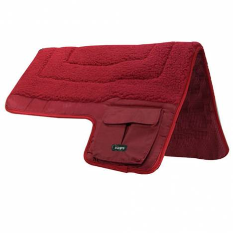 Western Fleece Pocket Saddle Pad