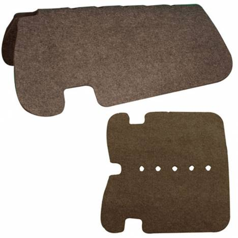 Western Double Layer Felt Saddle Pad