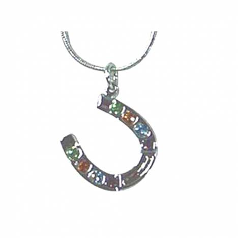 Exselle Horseshoe with Color Stones