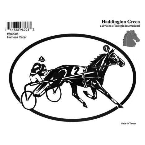 Decal - Harness Race - Pack Of 6