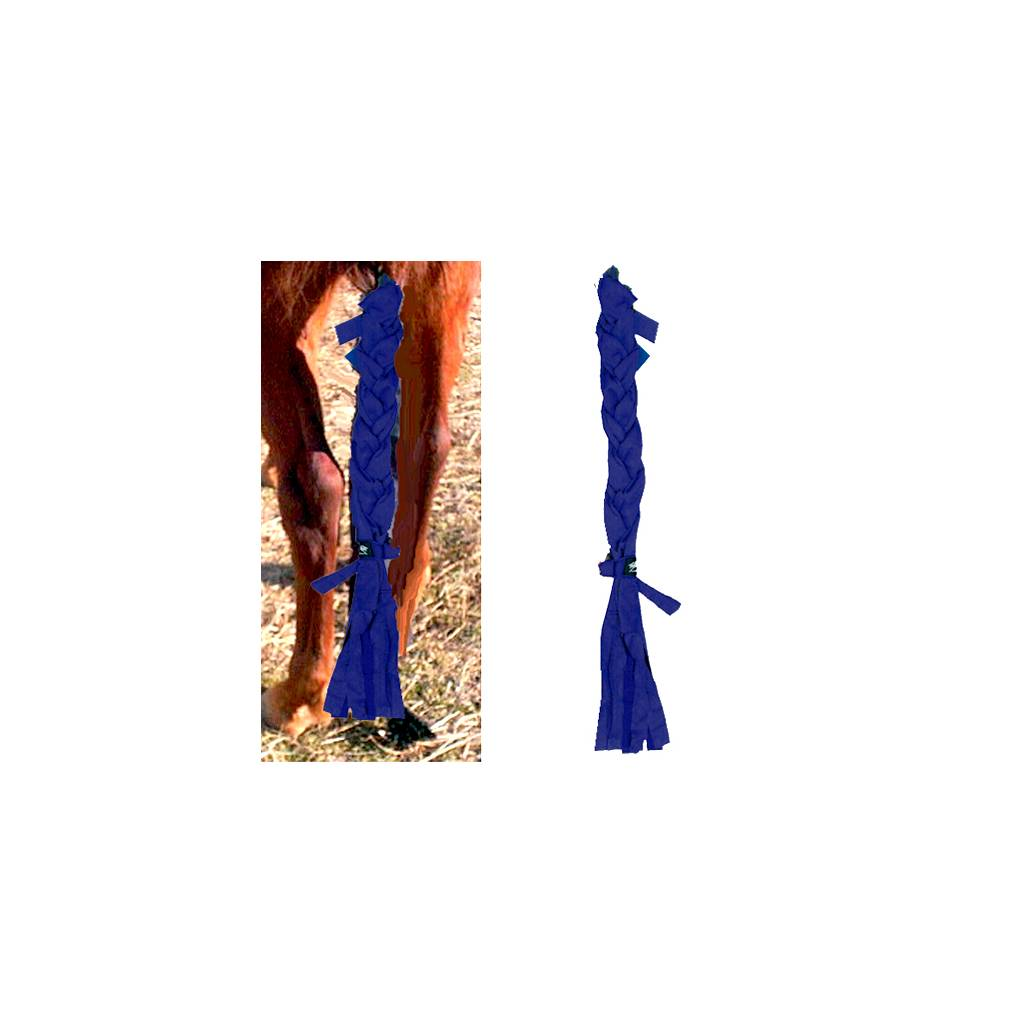Fleece Tailwrap Tail Braid