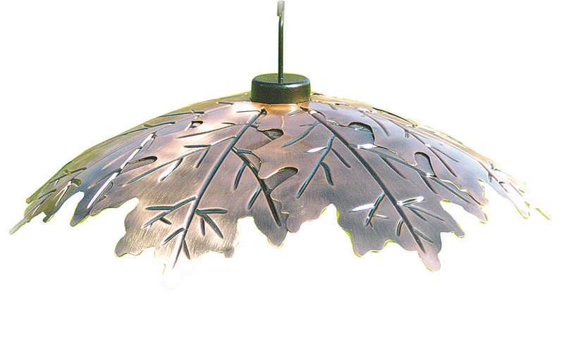 Brushed Copper Leaf Weather Shield image