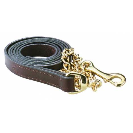 "Perri's Leather Lead With 30"" Chain"