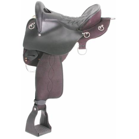 Trekker Neutron Endurance Saddle with o Horn