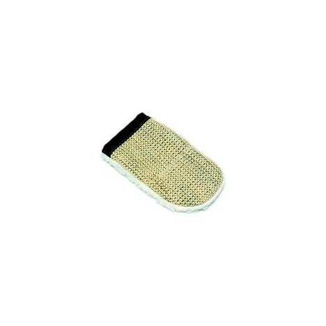 Sisal & Fleece Grooming Mitt