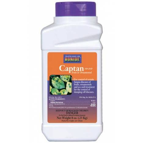 Captan Fruit Ornamental Plant and Tree Fungicide