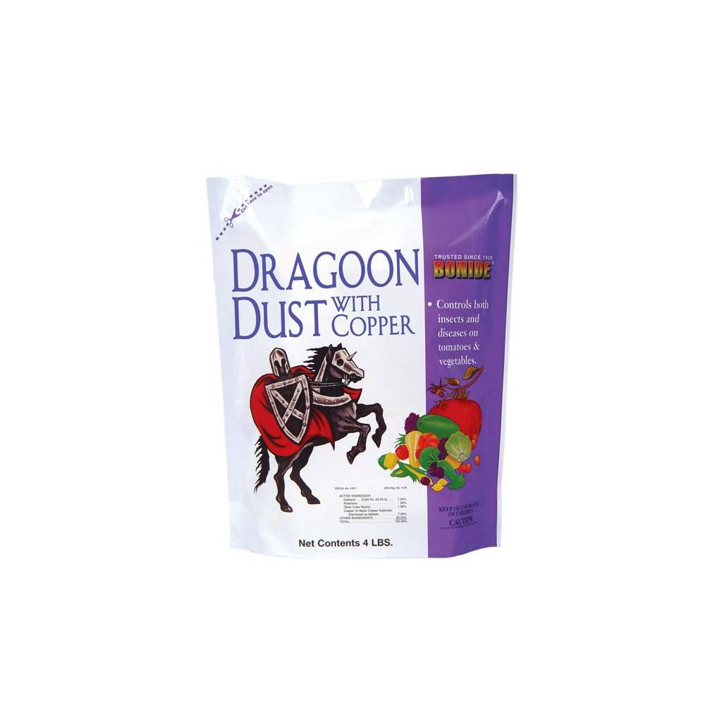 Dragoon Dust insecticide and fungicide